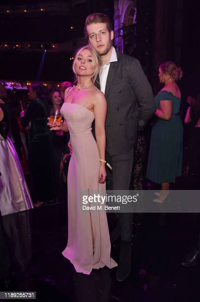 Nell Hudson and Jake Chatterton attend the after party of the 65th Evening Standard Theatre Awards In Association With Michael Kors at London...