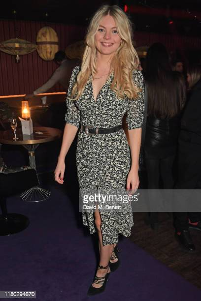 Nell Hudson attends attends an after party for the second worldwide screening of The Broken Butterfly hosted by Louis XIII Cognac and The Film...