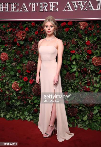 Nell Hudson attends the 65th Evening Standard Theatre Awards at the London Coliseum on November 24 2019 in London England