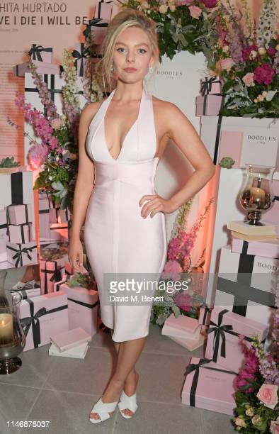 Nell Hudson attends the Boodles launch party in celebration of the new Wonderland High Jewellery collection at the Serpentine Sackler Gallery on May...