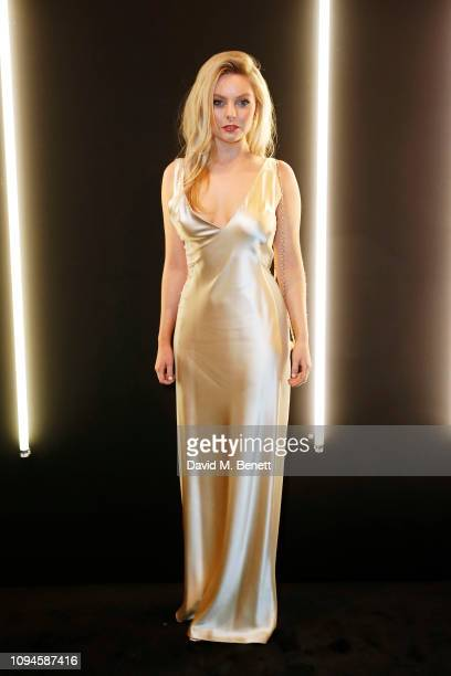 Nell Hudson attends the dunhill PreBAFTA dinner at dunhill Bourdon House on February 6 2019 in London England