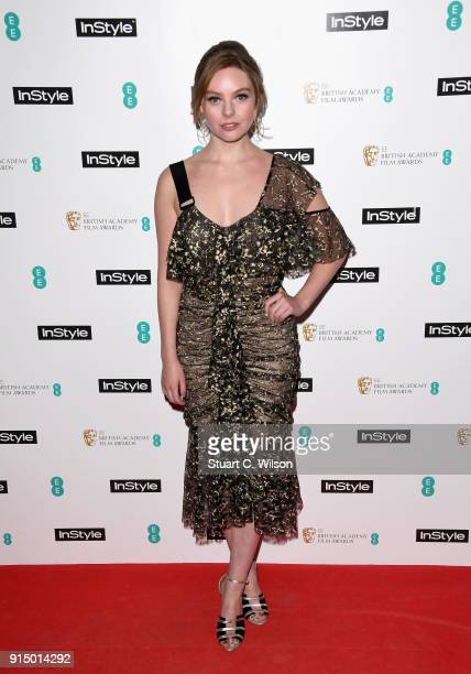 Nell Hudson attends the EE InStyle Party held at Granary Square Brasserie on February 6 2018 in London England