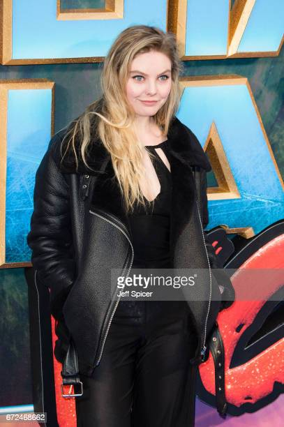 Nell Hudson attends the European Gala Screening of Guardians of the Galaxy Vol 2 at Eventim Apollo on April 24 2017 in London United Kingdom