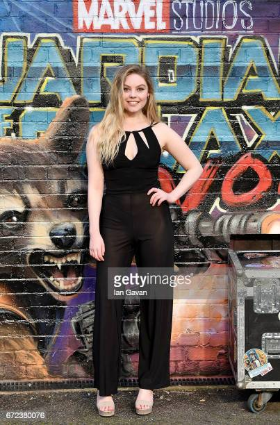 Nell Hudson attends the European launch event of Marvel Studios' Guardians of the Galaxy Vol 2 at the Eventim Apollo on April 24 2017 in London...