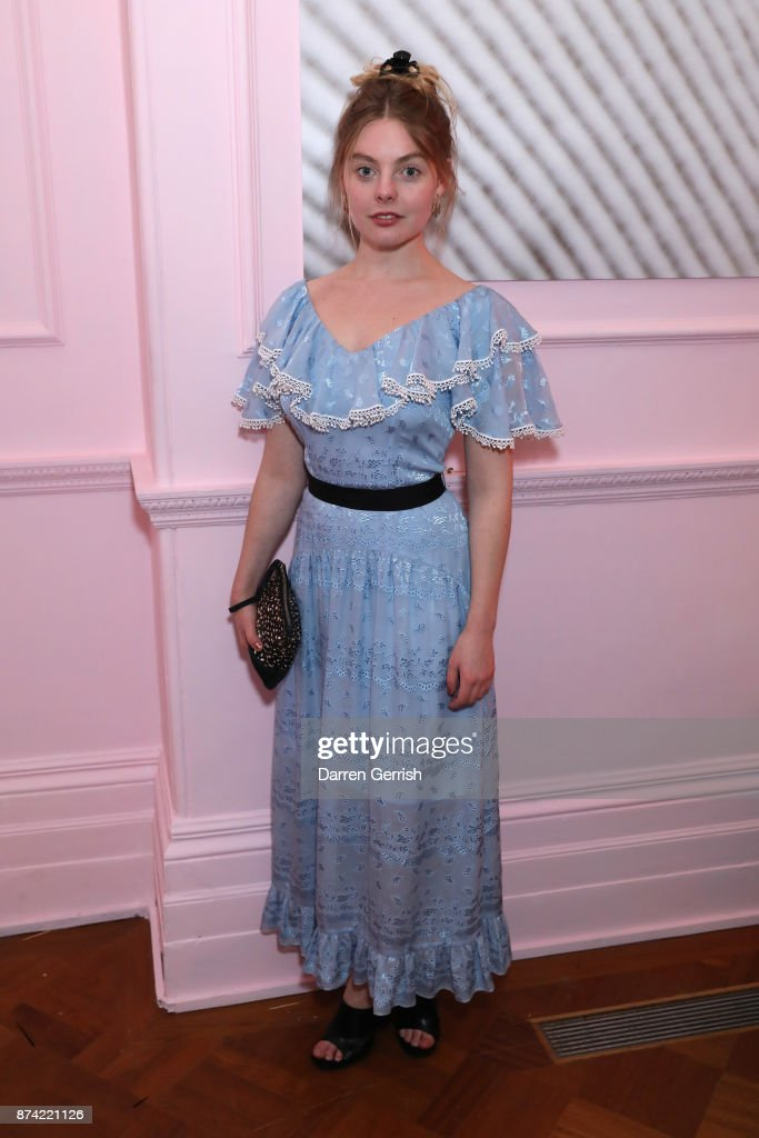 Nell Hudson attends the Glossier UK launch party on November 14, 2017 in London, England.