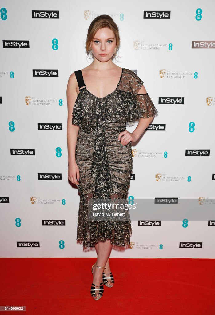 InStyle EE Rising Star Party Ahead Of The EE BAFTAs At The Granary Square Brasserie : News Photo