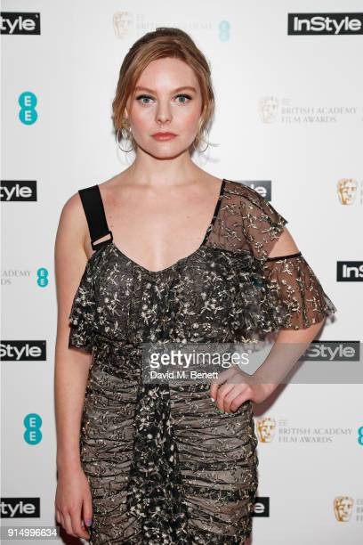 Nell Hudson attends the InStyle EE Rising Star Party at Granary Square on February 6 2018 in London England
