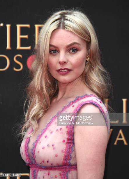 Nell Hudson attends The Olivier Awards 2019 with MasterCard at the Royal Albert Hall on April 07 2019 in London England