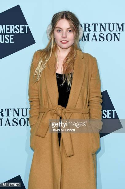 Nell Hudson attends the opening party of Skate at Somerset House with Fortnum Mason on November 14 2017 in London England London's favourite festive...