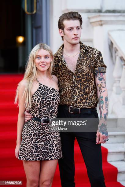 Nell Hudson attends the Pain And Glory UK Premiere and opening gala of Film4 Summer Screen at Somerset House on August 08 2019 in London England