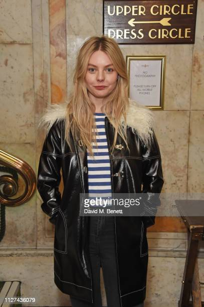 Nell Hudson attends the press night after party for Austentatious The Improvised Jane Austen Novel at Be At One on February 25 2019 in London England