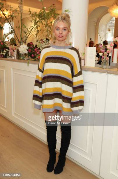 Nell Hudson attends the UK launch event for clean luxury beauty brand Westman Atelier hosted by international makeup artist and brand founder Gucci...
