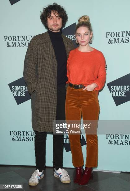 Nell Hudson attends the VIP launch of Skate at Somerset House on November 13 2018 in London England
