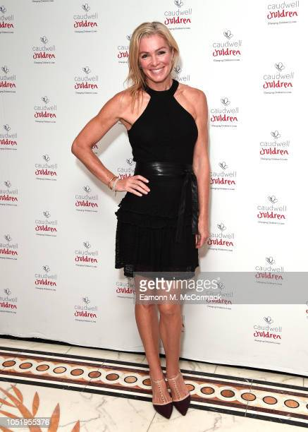 Nell McAndrew attends the Caudwell Children London Ladies Lunch held at The Dorchester on October 12 2018 in London England