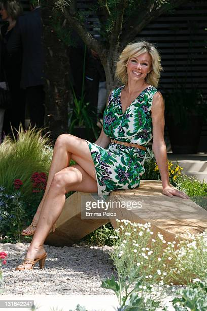 Nell McAndrew attends The RHS Chelsea Flower Show 2011 on May 23 2011 in London United Kingdom
