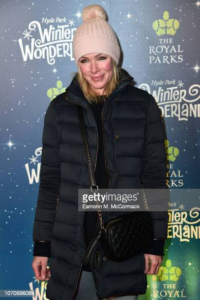 Nell McAndrew attends the VIP Launch of Hyde Park Winter Wonderland on November 21 2018 in London England