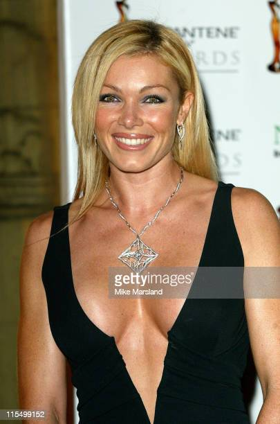 Nell McAndrew during 2003 Pantene ProV Awards Arrivals at The Royal Albert Hall in London Great Britain
