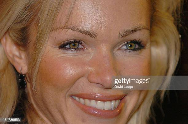 Nell McAndrew during 2005 Vodafone Life Savers Awards at The Savoy River Room in London Great Britain