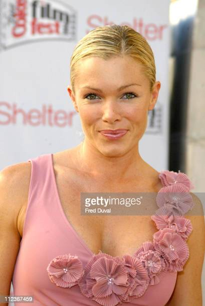 Nell McAndrew during Diet Coke Film Festival 2004 'Dirty Dancing' Gala Film Premiere at The Electric Cinema in London Great Britain