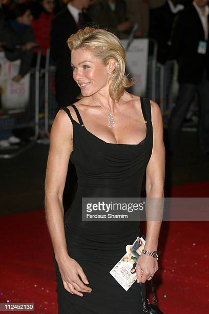 "Nell McAndrew during ""In Her Shoes"" London Premiere - Outside Arrivals at Empire Leicester Square in London, Great Britain."