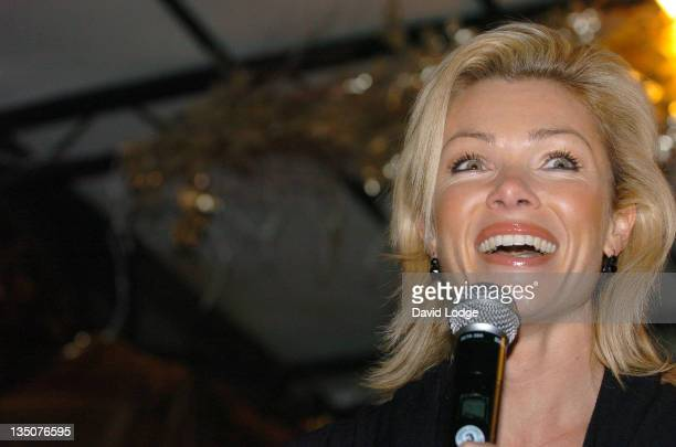 Nell McAndrew during Marylebone High Street Christmas Illuminations November 17 2005 at Marylebone High Street in London Great Britain