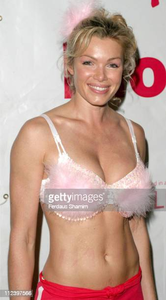 Nell McAndrew during Moonwalk Breast Cancer Charity Appeal Photocall at Hyde Park in London Great Britain