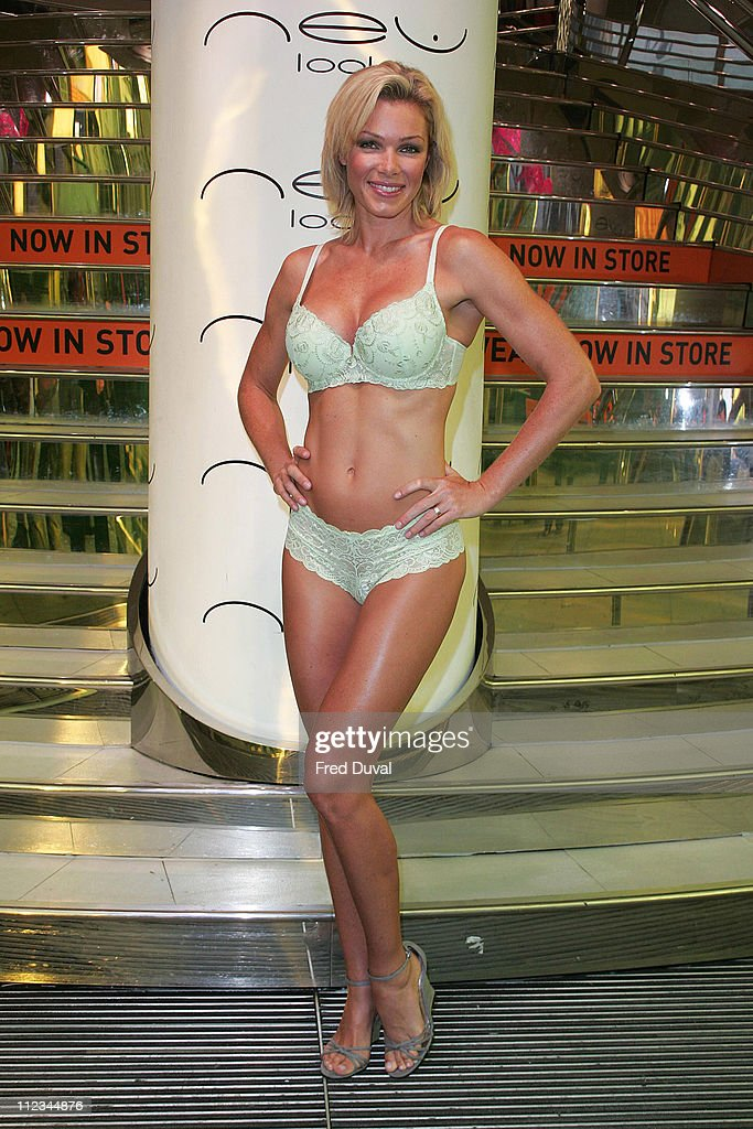 Nell McAndrew Opens the New Look Store on Marble Arch