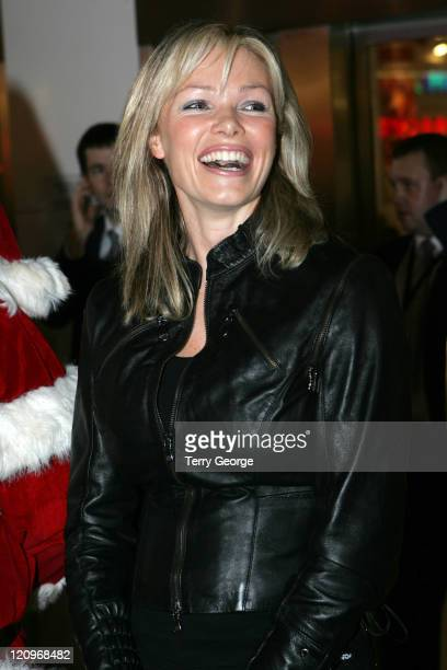 Nell McAndrew during Nell McAndrew switches on the Christmas Lights at the White Rose Shopping Centre at White Rose Shopping Centre in Leeds Great...