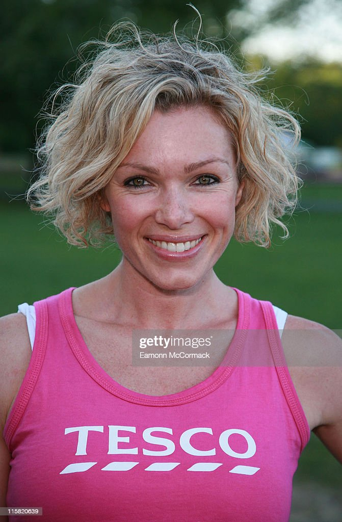 Paula Radcliffe and Nell McAndrew Support Race for Life - Photocall