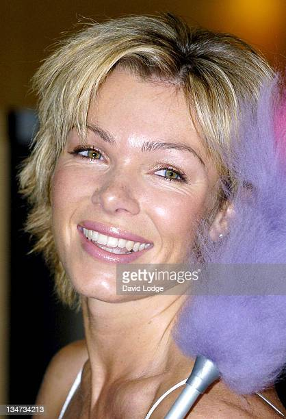 Nell McAndrew during 'Spring Into Action' 2005 Spring Clean Photocall at The Good Housekeeping Institute in London Great Britain