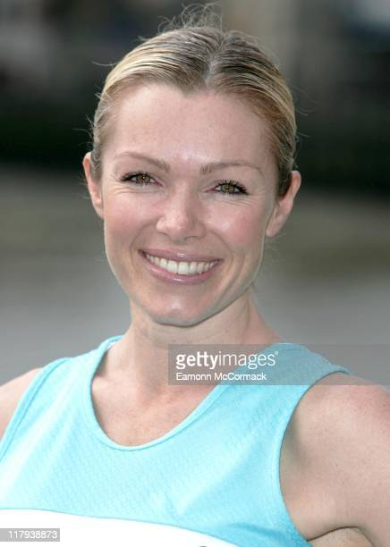 Nell McAndrew during the 2007 Flora London Marathon Press Conference at the Tower Thistle Hotel London on April 20 2007