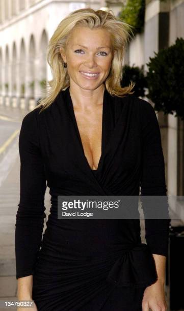Nell McAndrew during 'Wondermums' Award Ceremony Arrivals at Savoy Hotel in London Great Britain