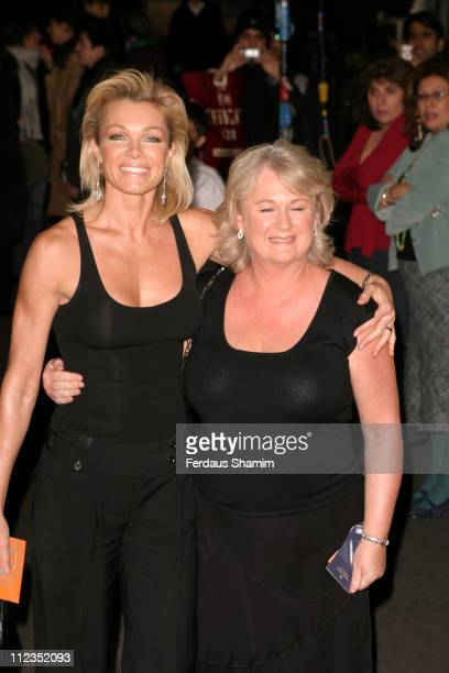 Nell McAndrew with her mother during British Academy Children's Film & Television Awards 2005 at Hilton Hotel in London, Great Britain.