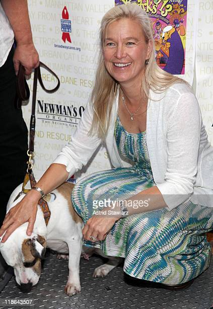 Nell Newman attends the 13th Annual Broadway Barks! at Shubert Alley on July 9, 2011 in New York City.