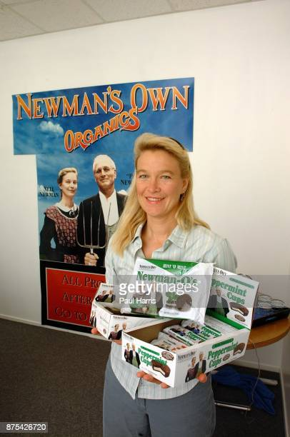 Nell Newman is the daughter of American actor Paul Newman and actress Joanne Woodward she stands in the conference room of her business Newman...