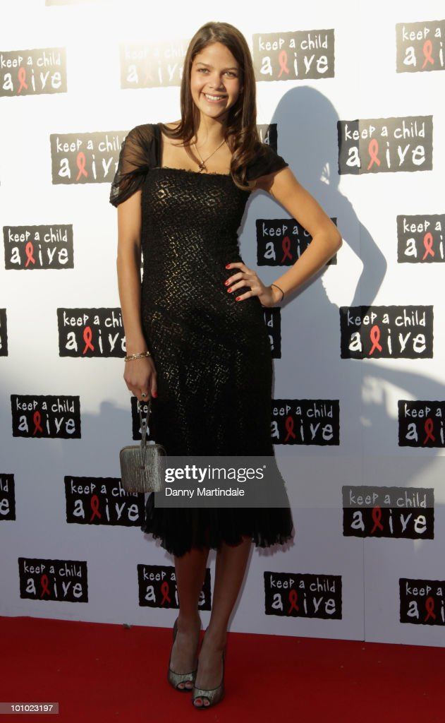 Nell Robinson attends the Keep A Child Alive Black Ball fundraiser on May 27, 2010 in London, England.