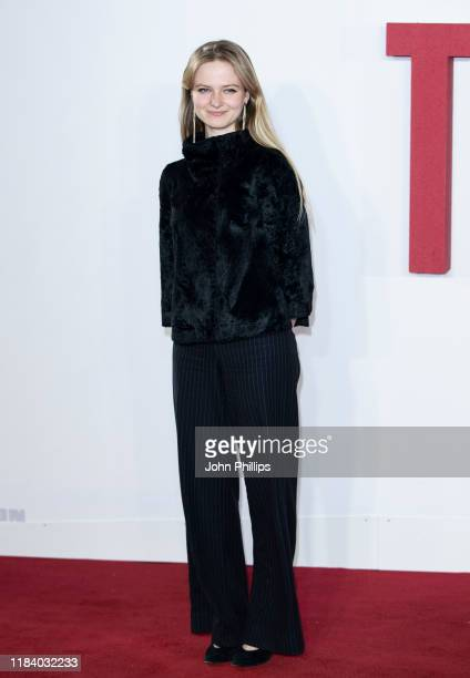 Nell Williams attends The Good Liar World Premiere at BFI Southbank on October 28 2019 in London England