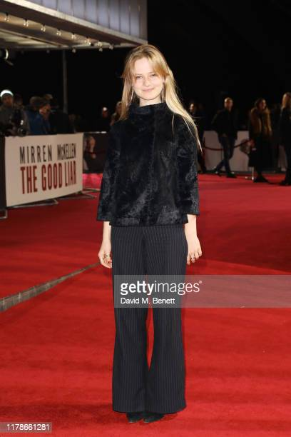 Nell Williams attends the World Premiere of The Good Liar at the BFI Southbank on October 28 2019 in London England