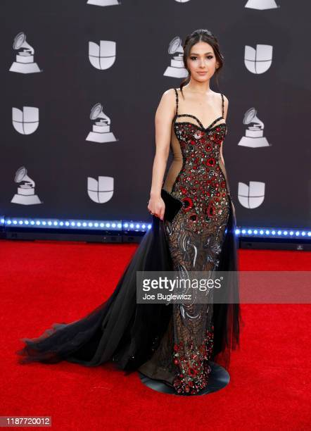 Nella attends the 20th annual Latin GRAMMY Awards at MGM Grand Garden Arena on November 14, 2019 in Las Vegas, Nevada.
