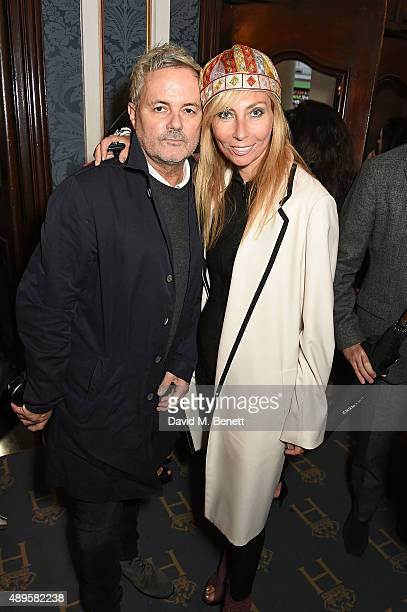 Nellee Hooper and Margarita Wennberg attend the exclusive viewing of 'McQueen' hosted by Karim Al Fayed for Lonely Rock Investments during London...