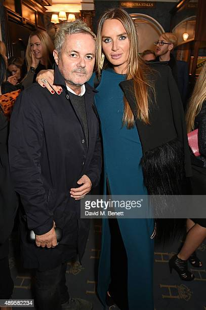 Nellee Hooper and Masha Markova Hanson attend the exclusive viewing of 'McQueen' hosted by Karim Al Fayed for Lonely Rock Investments during London...