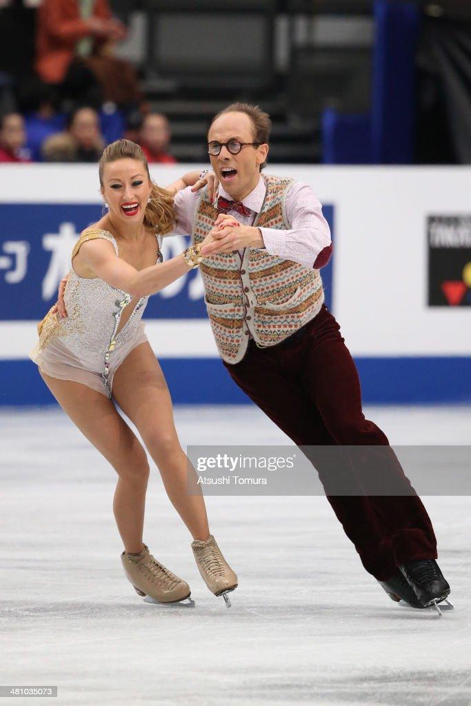 ISU World Figure Skating Championships 2014 - DAY 3