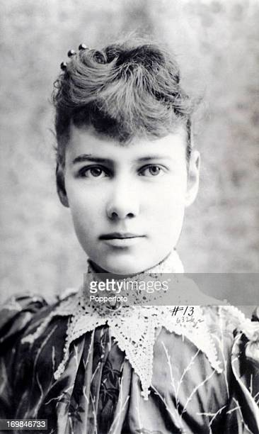 Nellie Bly American journalist who made a recordbreaking trip around the world circa 1890