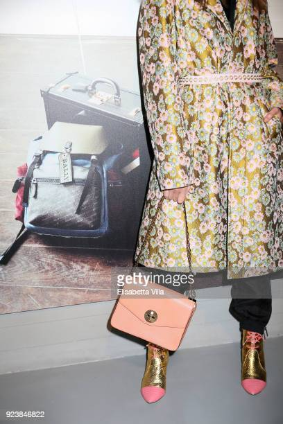 Nellie Lim attended the Bally Autumn Winter 2018 Press Presentation during Milan Fashion Week on February 24 2018 in Milan Italy