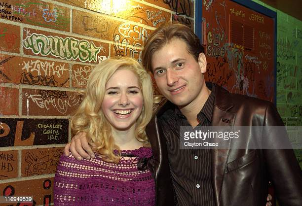 Nellie McKay and Peter Cincotti during 2005 Sundance Film Festival - ASCAP Music Cafe with Linda Perry, Billy Currington, Peter Cincotti, Nellie...