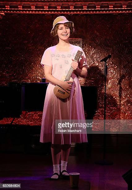 Nellie McKay attends Feinstein's/54 Below Press Preview at Feinstein's/54 Below on January 25, 2017 in New York City.