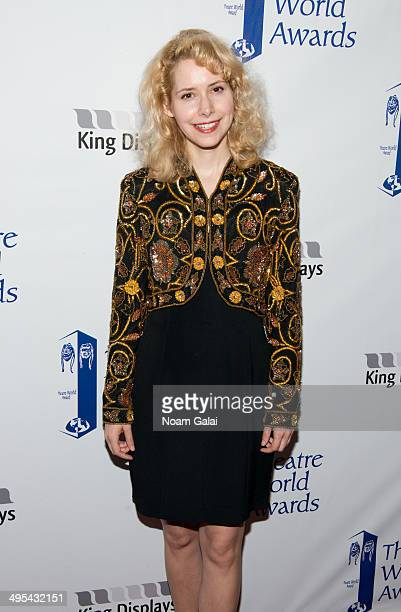 Nellie McKay attends the 2014 Theatre World Awards ceremony at Circle in the Square on June 2, 2014 in New York City.