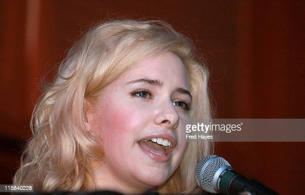 Nellie McKay during 2005 Sundance Film Festival - ASCAP Music Cafe with The Dresden Dolls, Nellie McKay, Peter Cincotti and Michael McDonald at Plan...