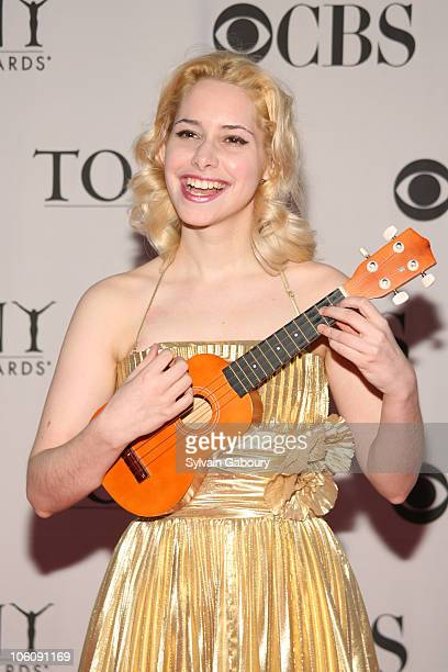 Nellie McKay during 60th Annual Tony Awards - Arrivals at Radio City Music Hall in New York City, New York, United States.