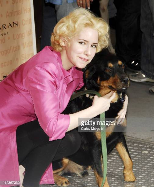 Nellie McKay during Broadway Barks 8 at Shubert Alley in New York City, New York, United States.